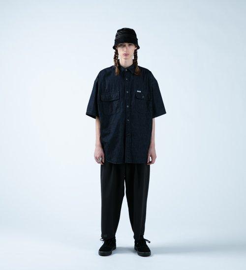他の写真3: COOTIE/Error Fit Denim Work S/S Shirt(インディゴ)[エラーフィットデニムワークシャツ-21春夏]
