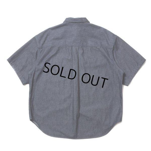 画像2: COOTIE/Error Fit Denim Work S/S Shirt(インディゴ)[エラーフィットデニムワークシャツ-21春夏]