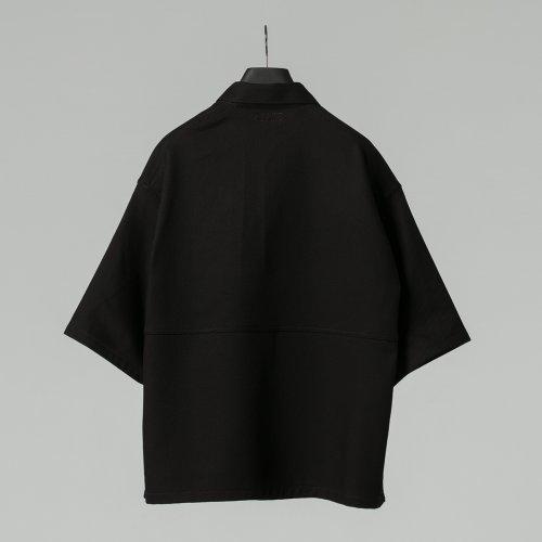 他の写真2: COOTIE/Kersey Pullover S/S Work Jacket(ブラック)[プルオーバーワークJKT-21春夏]