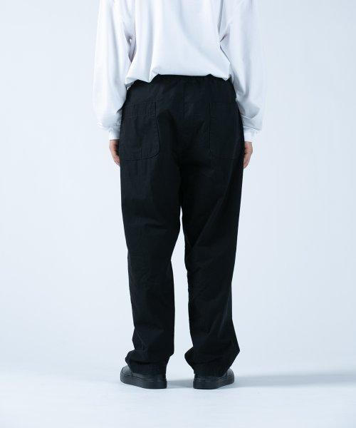 他の写真2: COOTIE/Garment Dyed 2 Tuck Easy Pants(ブラック)[2タックイージーパンツ-21春夏]