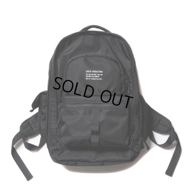 画像1: COOTIE/Nylon Backpack(ブラック)[ナイロンバックパック-21春夏]