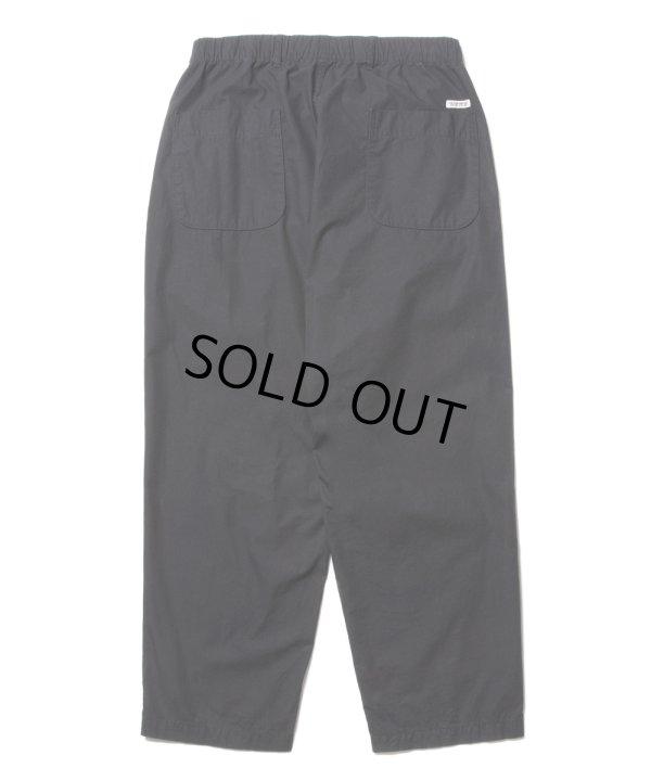 画像2: COOTIE/Garment Dyed 2 Tuck Easy Pants(ブラック)[2タックイージーパンツ-21春夏]