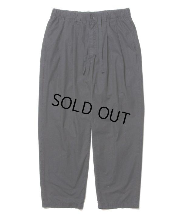 画像1: COOTIE/Garment Dyed 2 Tuck Easy Pants(ブラック)[2タックイージーパンツ-21春夏]