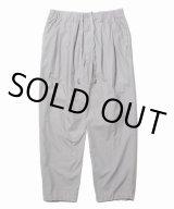 COOTIE/Garment Dyed 2 Tuck Easy Pants(グレー)[2タックイージーパンツ-21春夏]