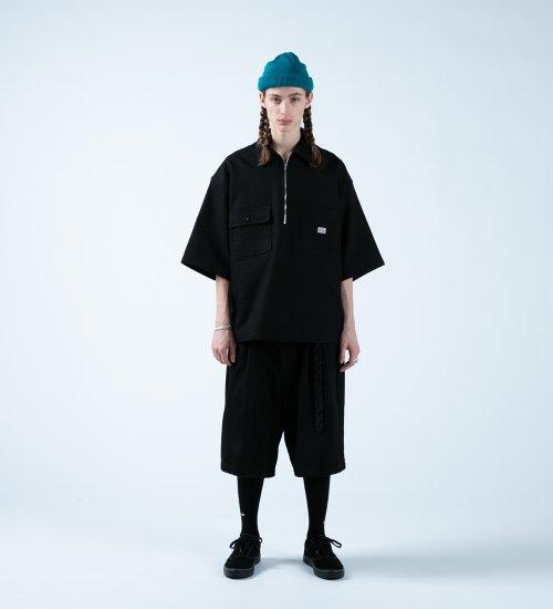 他の写真3: COOTIE/Kersey Pullover S/S Work Jacket(ブラック)[プルオーバーワークJKT-21春夏]