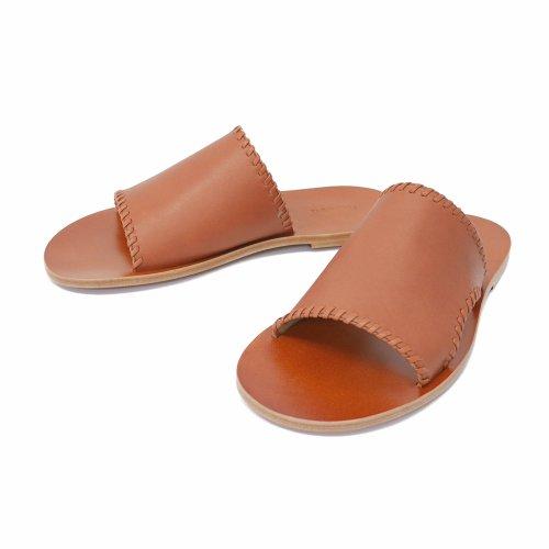 """他の写真1: DAIRIKU/""""Billy"""" Hand Stitch Leather Sandal(ソイル) 【30%OFF】[ハンドステッチレザーサンダル-21春夏]"""