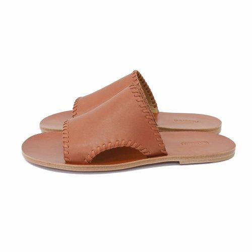 """他の写真2: DAIRIKU/""""Billy"""" Hand Stitch Leather Sandal(ソイル) 【30%OFF】[ハンドステッチレザーサンダル-21春夏]"""