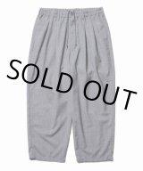 COOTIE/T/W 2 Tuck Easy Pants(アッシュグレー)[T/W 2タックイージーパンツ-21春夏]