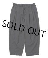 COOTIE/T/W 2 Tuck Easy Pants(ブラック)[T/W 2タックイージーパンツ-21春夏]