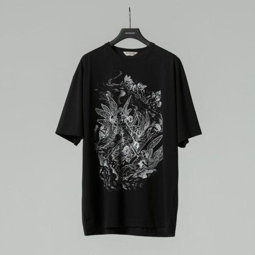 他の写真1: COOTIE/Print S/S Tee(HEAVEN)(ブラック)[プリントT-21春夏]