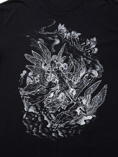 他の写真3: COOTIE/Print S/S Tee(HEAVEN)(ブラック)[プリントT-21春夏]