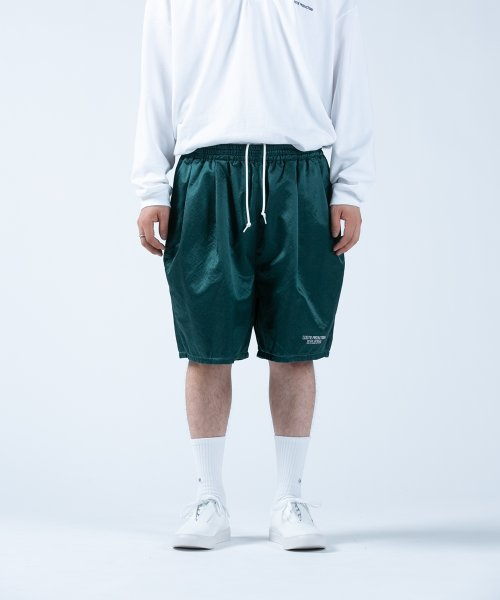 他の写真2: COOTIE/R/C Satin Easy Shorts(グリーン)[サテンイージーショーツ-21春夏]