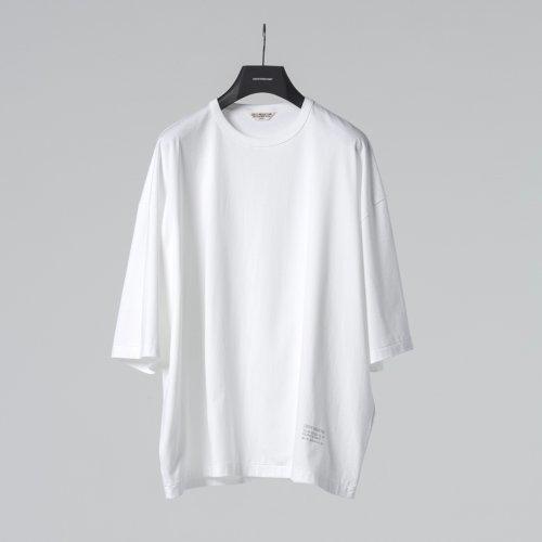 他の写真1: COOTIE/Supima Cotton Wide Fit S/S Tee(ホワイト)[ワイドフィットT-21春夏]