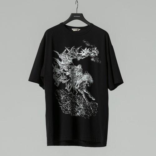他の写真1: COOTIE/Print S/S Tee(HELL)(ブラック)[プリントT-21春夏]