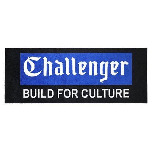 他の写真1: CHALLENGER/GARAGE MAT(ブラック)[ラグマット-21秋冬]