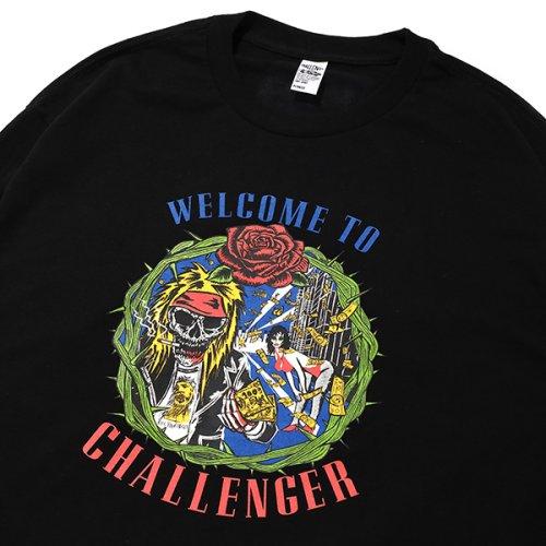 他の写真3: CHALLENGER/L/S WELCOME TO CHALLENGER TEE(ブラック)[プリント長袖T-21秋冬]