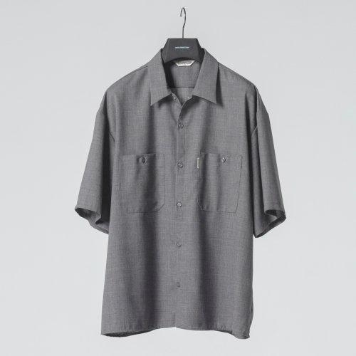 他の写真1: COOTIE/T/W Work S/S Shirt(アッシュグレー)[T/Wワークシャツ-21春夏]