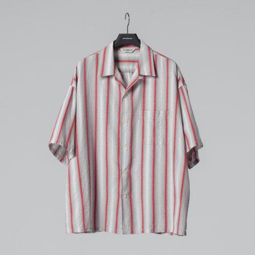 他の写真1: COOTIE/Snake Stripe Open-Neck S/S Shirt(ストライプ)[スネークストライプシャツ-21春夏]