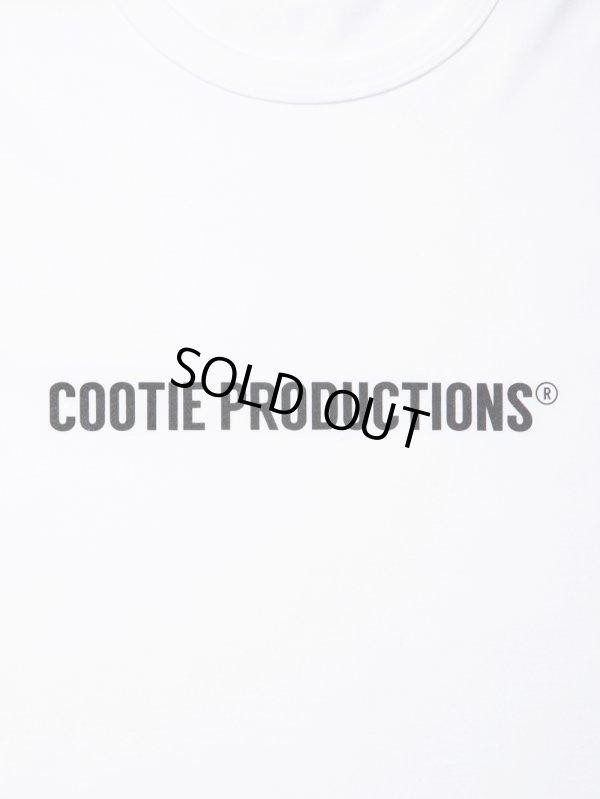 画像2: COOTIE/Print S/S Tee(COOTIE LOGO)(ホワイト)[プリントT-21春夏]
