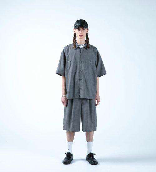 他の写真3: COOTIE/T/W Work S/S Shirt(アッシュグレー)[T/Wワークシャツ-21春夏]