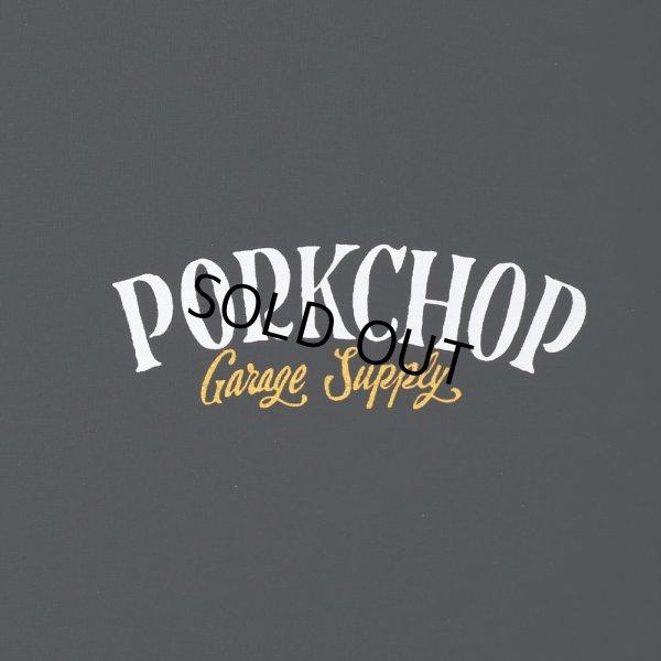 画像3: PORKCHOP/PORK BACK TEE(ブラック)[プリントT-21春夏]