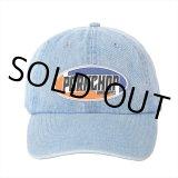 PORKCHOP/2nd Oval DENIM BASEBALL CAP(ライトブルー)[デニムキャップ-21春夏]