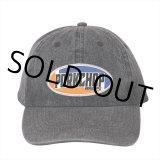 PORKCHOP/2nd Oval DENIM BASEBALL CAP(ブラック)[デニムキャップ-21春夏]
