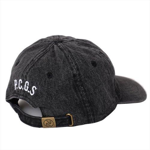 他の写真2: PORKCHOP/2nd Oval DENIM BASEBALL CAP(ブラック)[デニムキャップ-21春夏]