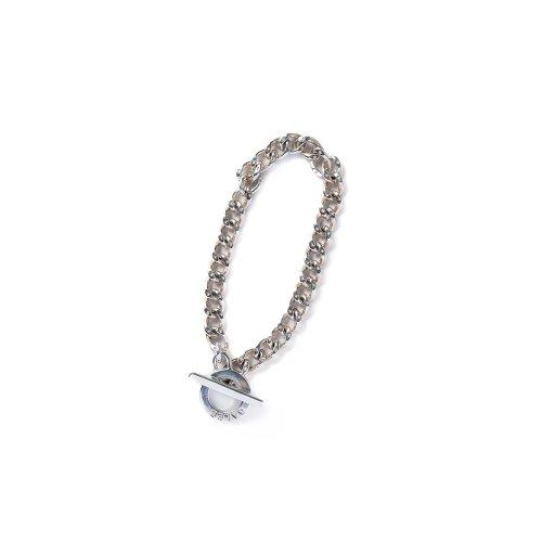 他の写真1: CALEE/Silver chain bracelet(シルバー)[シルバーチェーンブレスレット-21春夏]