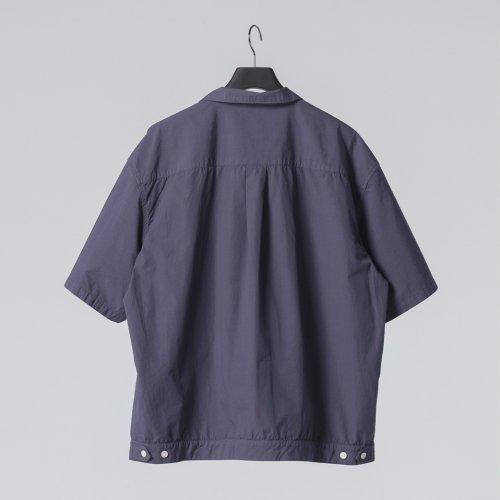 他の写真2: COOTIE/Garment Dyed C/L Open-Neck S/S Shirt(ネイビー)[オープンカラーシャツ-21春夏]