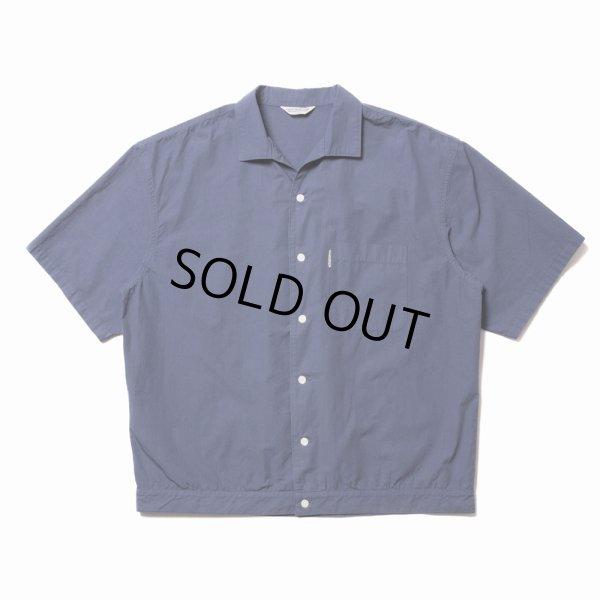 画像1: COOTIE/Garment Dyed C/L Open-Neck S/S Shirt(ネイビー)[オープンカラーシャツ-21春夏]