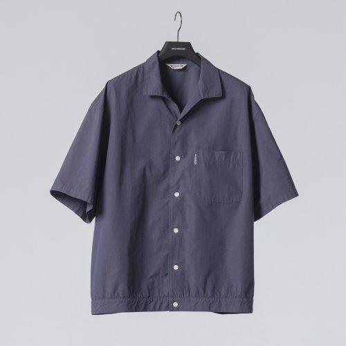 他の写真1: COOTIE/Garment Dyed C/L Open-Neck S/S Shirt(ネイビー)[オープンカラーシャツ-21春夏]