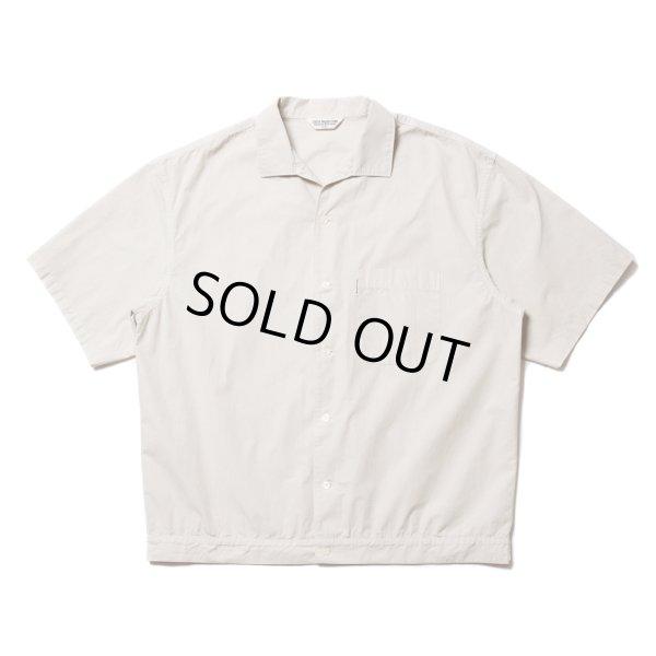 画像1: COOTIE/Garment Dyed C/L Open-Neck S/S Shirt(アイボリー)[オープンカラーシャツ-21春夏]