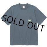 CALEE/Drop shoulder pocket S/S t-shirt(ネイビー)[ドロップショルダーポケT-21春夏]