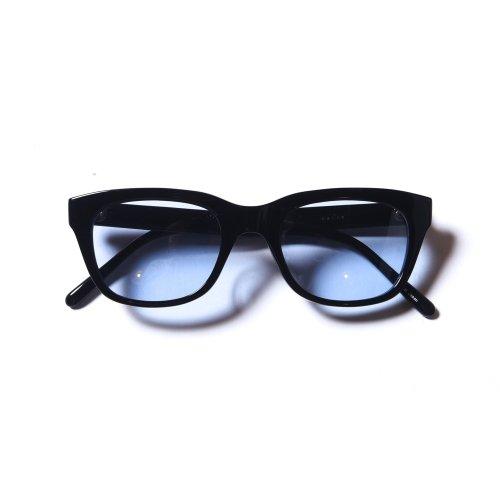 他の写真2: CALEE/Wellington type glasses(ブラック/ブルー)[ウェリントン型眼鏡-21春夏]