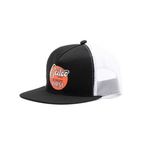 他の写真1: CALEE/CALEE logo print mesh cap(ブラック/ホワイト)[メッシュキャップ-21春夏]