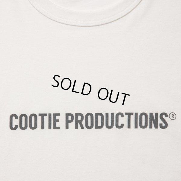 画像2: COOTIE/Print Oversized S/S Tee(COOTIE LOGO)(オフホワイト)[オーバーサイズT-21秋冬]