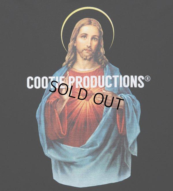 画像4: COOTIE/Print Oversized S/S Tee(JESUS)(ブラック)[オーバーサイズT-21秋冬]