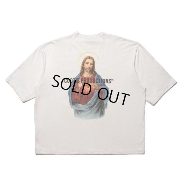 画像1: COOTIE/Print Oversized S/S Tee(JESUS)(オフホワイト)[オーバーサイズT-21秋冬]