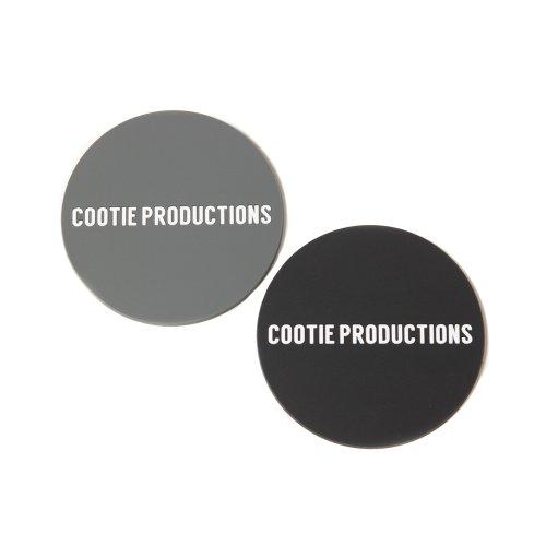 他の写真1: COOTIE/Coaster Set(ブラック&グレー)[コースター2枚セット-21秋冬]