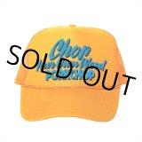 PORKCHOP/CHOP YOUR OWN WOOD CAP(ゴールド)[メッシュキャップ-21春夏]