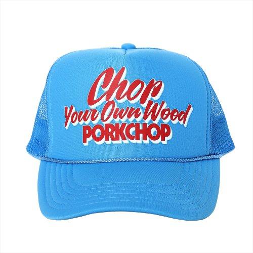 他の写真1: PORKCHOP/CHOP YOUR OWN WOOD CAP(コロンビアブルー)[メッシュキャップ-21春夏]