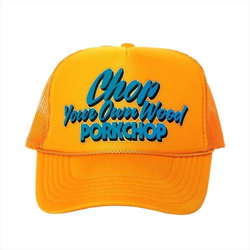 他の写真1: PORKCHOP/CHOP YOUR OWN WOOD CAP(ゴールド)[メッシュキャップ-21春夏]