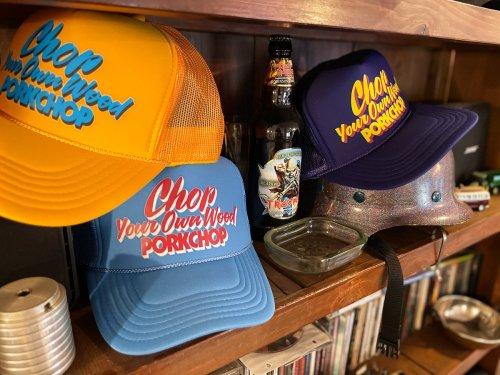 他の写真3: PORKCHOP/CHOP YOUR OWN WOOD CAP(コロンビアブルー)[メッシュキャップ-21春夏]