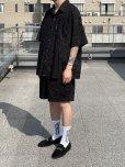 画像4: COOTIE/Splatter Open-Neck S/S Shirt(ブラック)[スプラッターオープンカラーシャツ-21秋冬] (4)