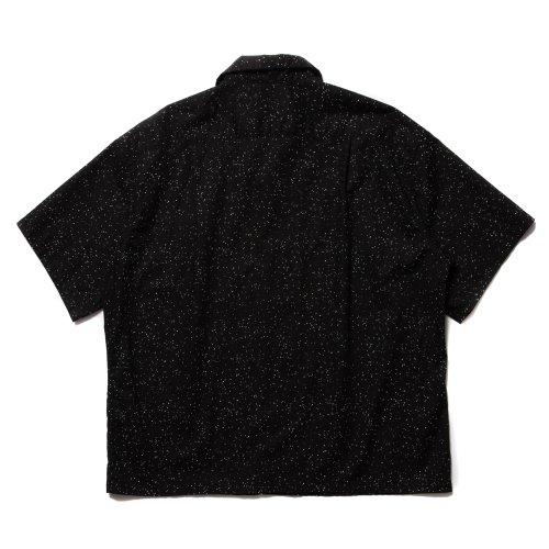 他の写真2: COOTIE/Splatter Open-Neck S/S Shirt(ブラック)[スプラッターオープンカラーシャツ-21秋冬]