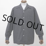 WACKO MARIA/50'S SHIRT L/S(TYPE-1)(チャコール)[50'Sシャツ-21秋冬]