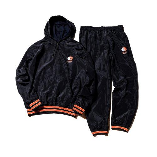 他の写真1: CALEE/Calee logo half zip parka & Utility pants(ブラック)[パーカー&パンツセットアップ-21秋冬]