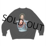 COOTIE/Print Crewneck Sweatshirt(JESUS)(ブラック)[クルーネックスウェット-21秋冬]