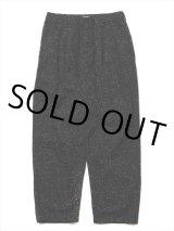 COOTIE/Splatter Print OX 2 Tuck Easy Pants(ブラック)[スプラッター2タックイージーパンツ-21秋冬]